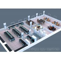 Best LCM Laboratory Furniture Systems Dust Removing With Powder Coated Steel Doors wholesale