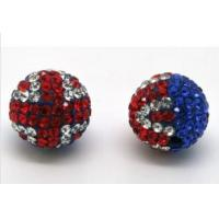 Best Rhinestone Shamballa 16mm Crystal Pave Ball Beads Handmade Jewelry Making wholesale