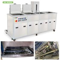 China Injection Mould Utrasonic Cleaning Machine With Multi Stage Equipment Washing, Rinsing And Drying on sale