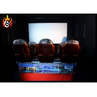 Best 5D Theater Equipment with Luxury Hydraulic Motion Cinema Chair wholesale