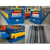 Best High Strength 22KW Floor Deck Roll Forming Machine With Gearbox Drive wholesale