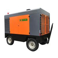 Best Strong Adaptability Portable Screw Air Compressor , Portable Diesel Air Compressor 13 Bar wholesale