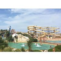 Best Durable Spiral Swimming Pool Slide Large Thrilling Playground Entertainment Equipment wholesale