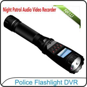 Best 1080P Police Flashlight DVR On-site Enforcement Audio Recorder Night Patrol Video Camera wholesale