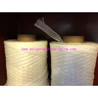 Best White Cable Filler Yarn , PP Fibrillated Yarn Winding In Paper Tube Packing wholesale