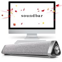 Best Wireless Portable 5.0 Bluetooth Soundbar Speaker 10W For PC / TV 3D Stereo wholesale