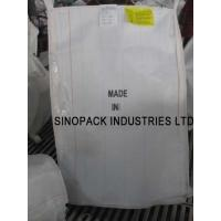 Best Anti static CROHMIQ blue / white FIBC 1 Tonne Bulk Bags dissipative with no grounding wholesale