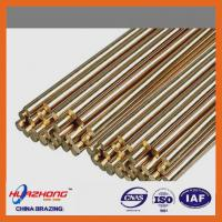 Buy cheap Copper based material brass welding rod,brazing brass rod,wire/ring/strip type,brass filler metal,2kg/package from wholesalers