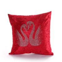 Details Of Luxury Europe Pillowcases Velvet Rhinestone