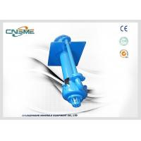 Buy cheap A05 High Chrome Alloy Vertical Slurry Pump Open Pit 15Kw 900mm Shaft from wholesalers