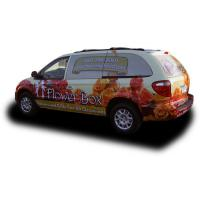 Best Weather Resistant Custom Car Magnets / Magnetic Vehicle Signs Full Color Printing wholesale