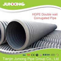 Best 25inch DN500mm  HDPE double wall corrugated pipes for stormwater wholesale