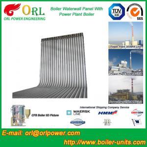 Best Steel Water Heat Boiler Water Wall , Waterwalls High Temp TUV Certification wholesale