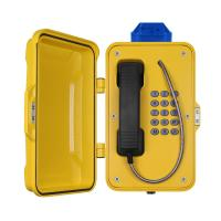 Best IP67 Industrial Weatherproof Telephone With Beacon , PoE Powered Tunnel Phone wholesale