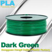 China High Strength 3mm / 1.75mm 3D Printer Filament  PLA1 kg / Plastic Spool on sale