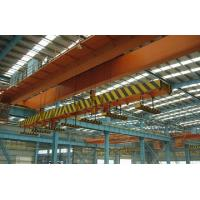 Buy cheap High Speed Double Girder Overhead Crane With Magnet For Lifting Iron / Steel from wholesalers