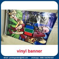 Best 15 oz Backlit Hanging Vinyl Banners with Grommets wholesale