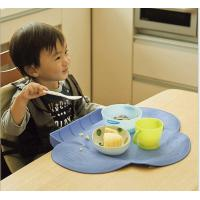 Best Green And Pink Silicone Placemats Silicone Table Pad Easy To Wash wholesale