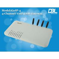 Best Remote SMS Server Router GoIP 4 GSM Gateway VoIP With 4 Sim Cards wholesale