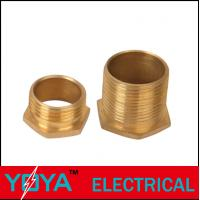 China 20mm BS Conduit Accessories , Brass Conduit Pipe Fitting Reducer EN50086 / 61386 on sale