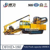Best 180T Capacity DFHD-180 driling rig machinery HDD machine with 1800KN Feeding Force wholesale