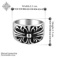 Best Popular Wholesale Flower Shaped Nickel Free Hot Sell Steel Ring wholesale
