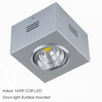 Best IP40 Silver 7W CreeCOB Ceiling down light&LED Grille light for Dinning room wholesale