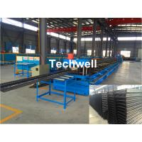 Best CT100-600 Electric Cable Ladder Roll Forming Machine for Making Steel Cable Tray Ladder Profile Sheets wholesale