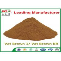 Best Custom Synthetic Dyes C I Vat Brown 1 Brown BR Dye For Synthetic Fabric wholesale