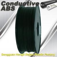 Best Good elasticity universal ABS Conductive 3d Printer Filament in Black wholesale