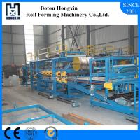 China Lightweight Concrete Sandwich Panel Production Line 4m / Min Work Capacity on sale
