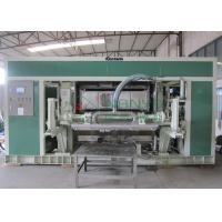 Quality Waste Paper Rotary Egg Pulp Molding Equipment with Single Layer Dryer wholesale