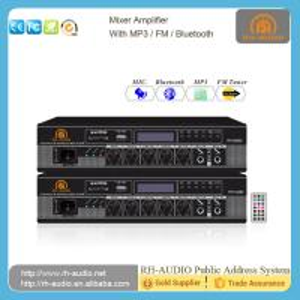 China RH-AUDIO Electrical Equipment BGM Mini Amplifier with Bluetooth FM Radio Signal USB Port on sale