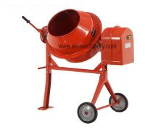 China Small Concrete Mixer Mini  Electric Portable Self Loading Concrete Mixer China on sale