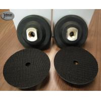 "Buy cheap 3"" , 4"" , 5"" Rubber Granite Polishing Pads Holder , Black Color Diamond from wholesalers"