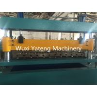 Quality Auto Hydraulic Cut to Length Corrugated Roll Forming Machine OMRON Encoder wholesale