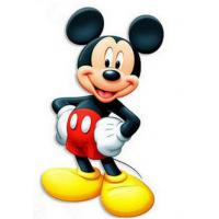 Best Attractive Humanoid Mickey Mouse Cardboard Standee Display For Promotion wholesale