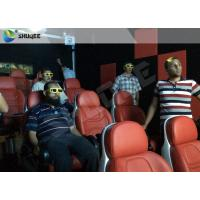 Best Luxury Electric System 5d Movie Theatre 2DOF Motion Seats For Shopping Mall wholesale