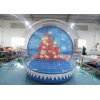 Best 0.8mm Transparent Inflatable Snow Globe Photo Booth wholesale