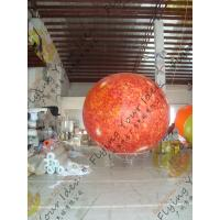 Cheap 2.5m helium PVC Fireproof with B1 Certificate and Waterproof Sun Earth Balloons for sale