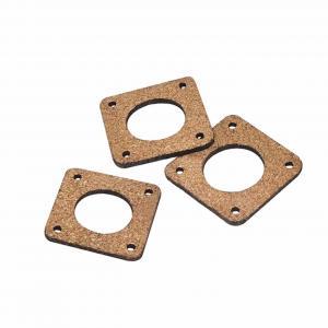 Best Cork Sheet 42mm*42mm*3mm 3D printer Shock Absorber NEMA 17 Damping Gasket wholesale