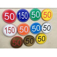 """Best 24"""" X 49"""" ABS Rotary Engraving Plastic Sheet , CNC Custom Engraved Plates wholesale"""