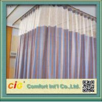 China Polyester Cubicle Hospital Use Home Textile Fabric Cloth Material for Upholstery on sale