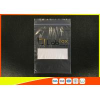 Best Damp - Proof Clear Plastic Poly Industrial Ziplock Bags For Electronic Products wholesale