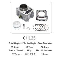 Best CH 125 Honda 125cc Water Cooled Cylinder Kit For Motorcycle Engine Parts wholesale