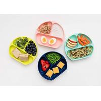 Best 100% Silicone Plates for Toddlers Divided Baby Plates   Non-Toxic, BPA Free & FDA/LFGB wholesale