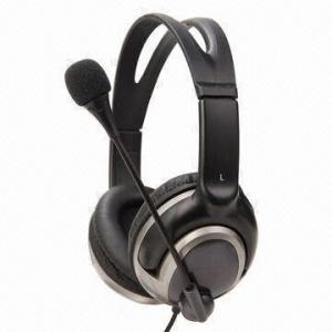Best Big Size Headphones with Microphone, 40mm Speaker, Pressure Free Headband Design wholesale