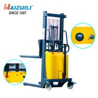 China Semi Electric 2 Ton Forklift , 1.6m Battery Powered Forklift Large Capacity on sale