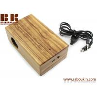 Best New Mini Induction portable Boombox For phone Wireless music speaker Wooden Speaker wholesale