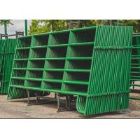 Buy cheap Horse Fence Round Pen Arena Corral Panel and Fram Gate Used In USA Market from wholesalers